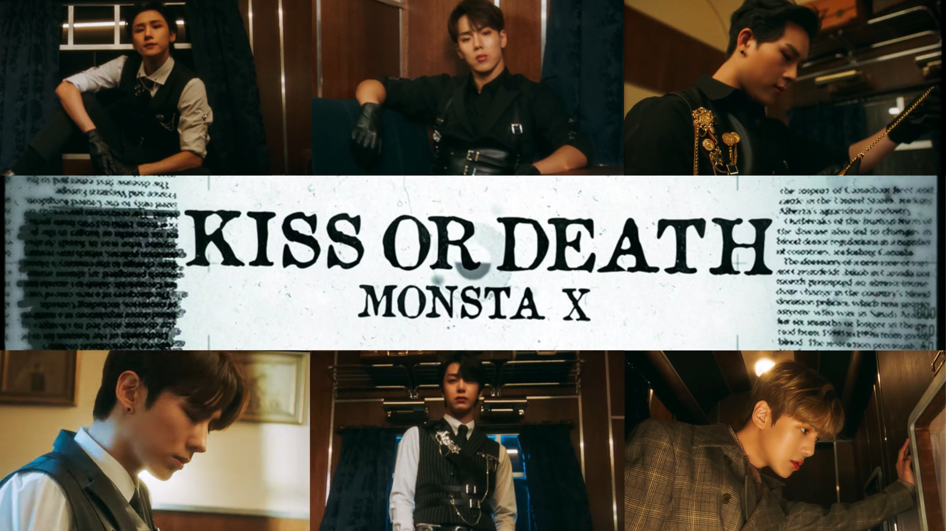 "MONSTA X Embodies Power In Their ""Kiss Or Death"" Music Video"