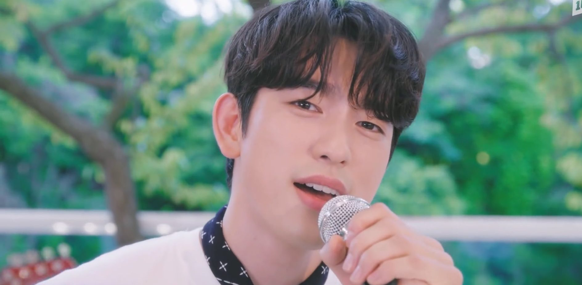 """Jinyoung Delights With A Refreshing New Single Titled """"DIVE"""""""
