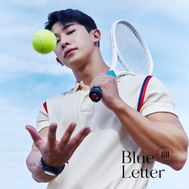 WONHO_BLUE LETTER