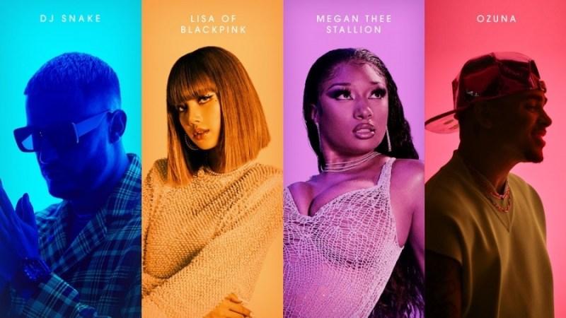 """BLACKPINK's Lisa, DJ Snake, Megan Thee Stallion & Ozuna Release A Striking MV For """"SG"""""""