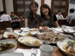 Korean buffet (Sis. K and ward member)