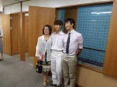Bro. Y and his mom and brother