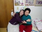 Our cute Korean grandma in our ward