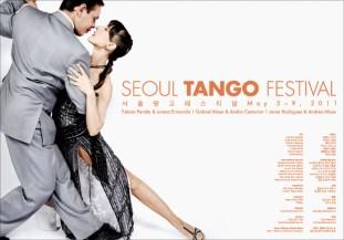 2011 Seoul Tango Festival Poster