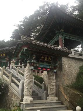 Temple in Bukhansan National Park