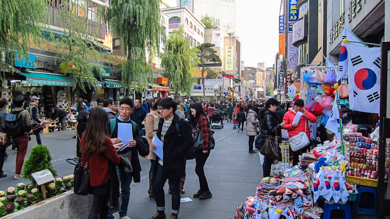 Places to Visit in Seoul Insadong