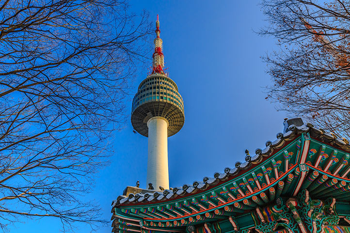 Places to Visit in Seoul Namsan Tower