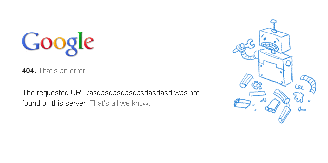 ERROR 404 que es como solucionarlo