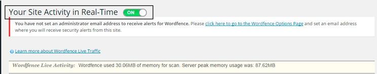Configurar Wordfence