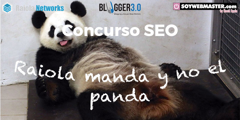 Concurso SEO Raiola manda y no el panda