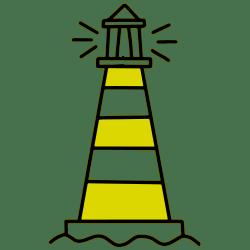 seo writer lighthouse logo