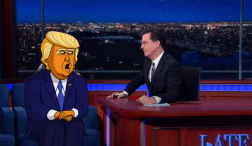stephen colbert donald trump png