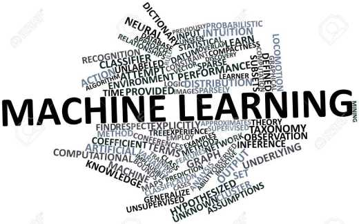 or machine learning with related tags and terms stock photo jpg