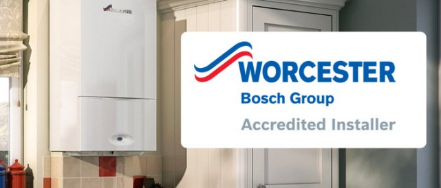 Worcester Bosch Accredited Installer Finance Available