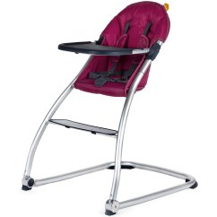 Purple High Chair White Wood Counter Height Chairs Babyhome Eat