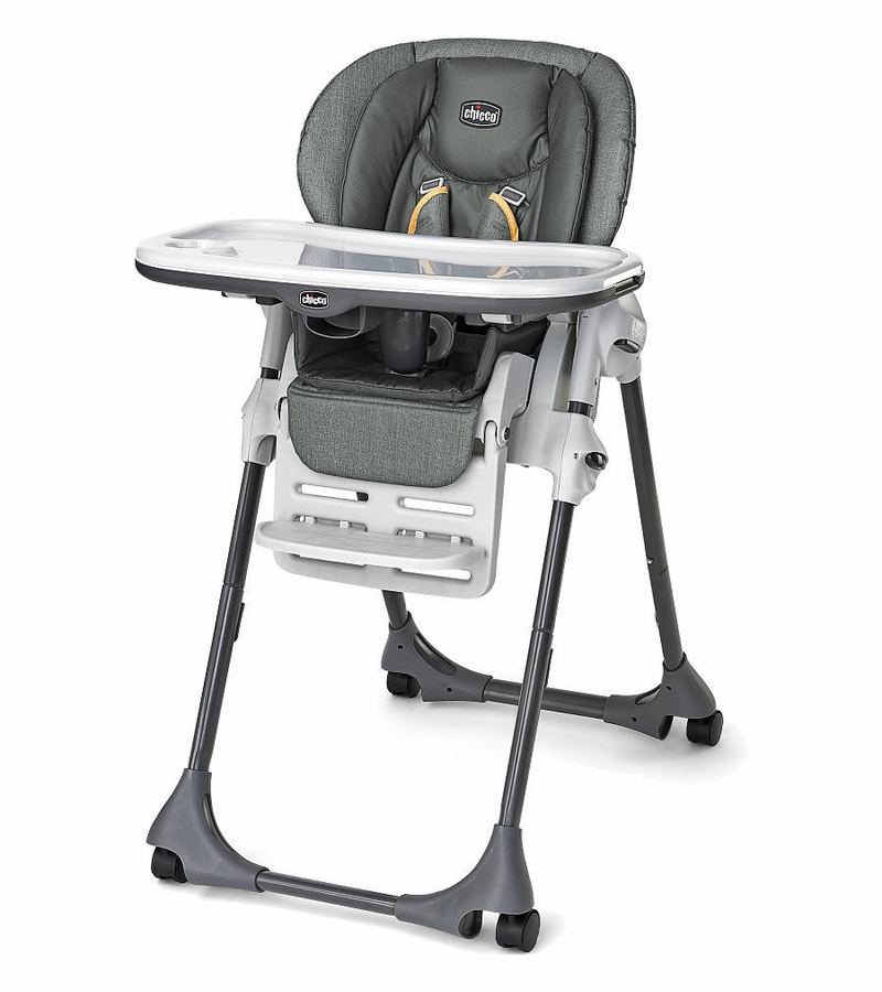 Chicco Vinyl Polly High Chair  Sedona
