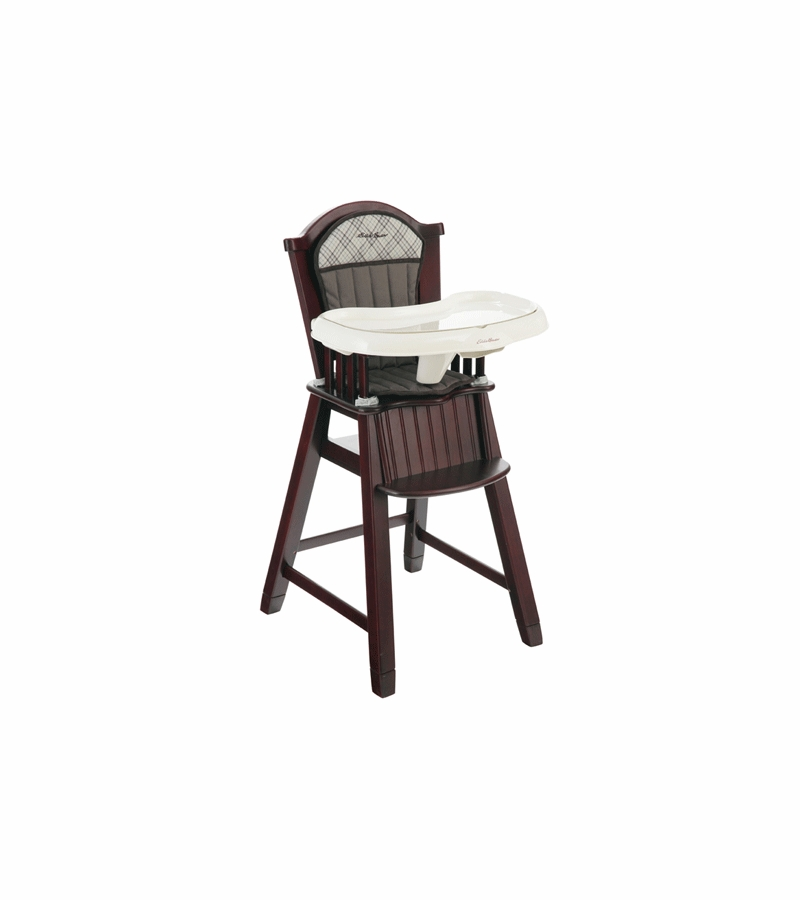 Eddie Bauer The Newport Collection Wooden High Chair in