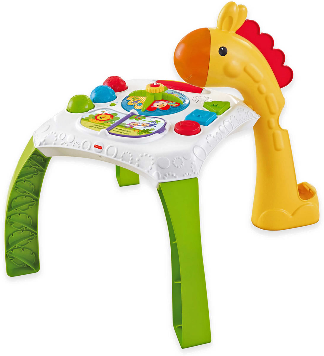 Fisher Price Table And Chairs Fisher Price Animal Friends Learning Table Bilingual