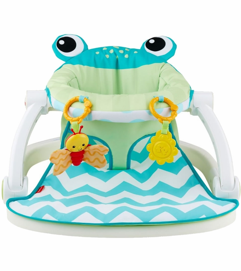 baby chairs to help sit up hans wegner replica chair fisher-price sit-me-up floor seat - citrus frog