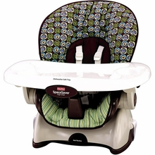 rainforest spacesaver high chair oval glides booster seats