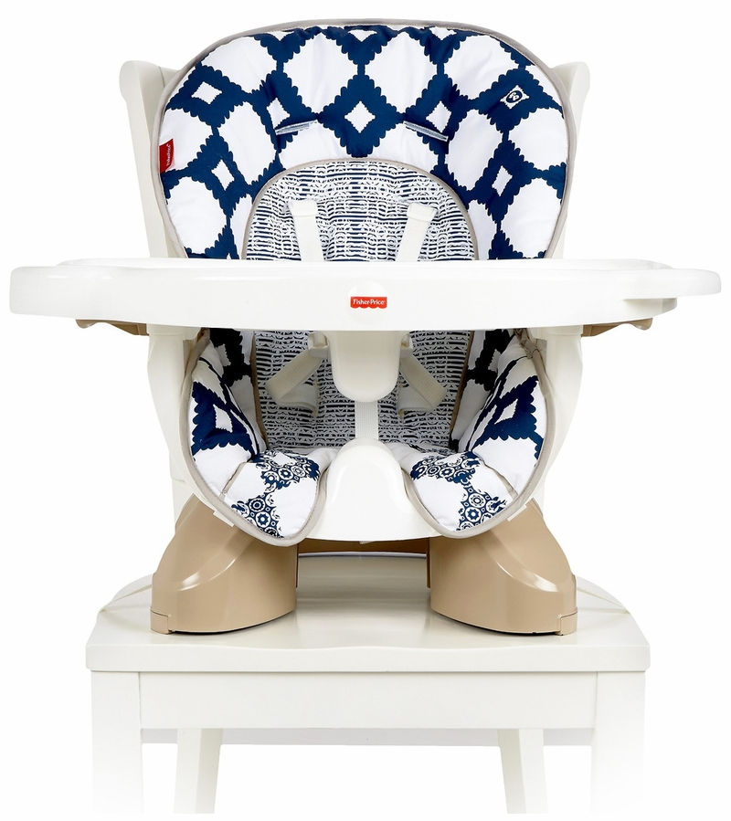 fisher price space saver chair cushion risers for chairs fisher-price spacesaver high - navy