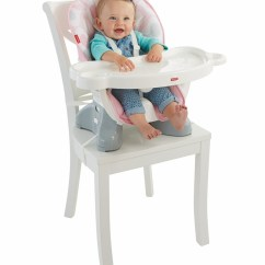 Fisher Price Spacesaver High Chair Inflatable Chairs For Adults Fisher-price - Pink Ellipse