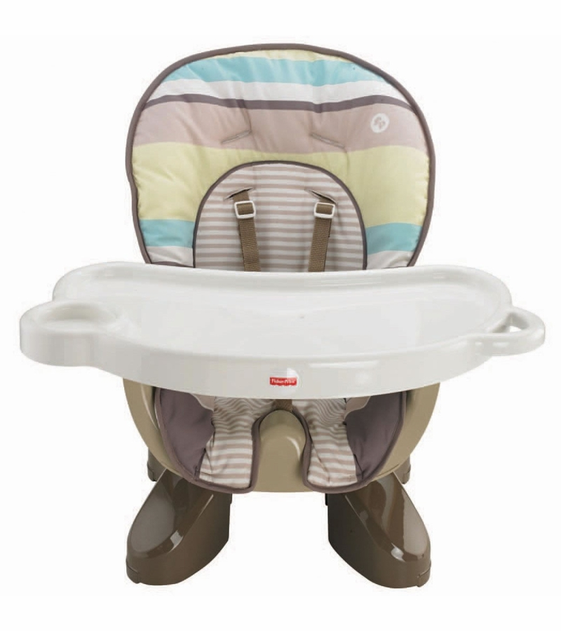 fisher price spacesaver high chair patio dining fisher-price - stripes