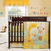 Jungle Themed Nursery Bedding Sets. jungle theme bedroom ...