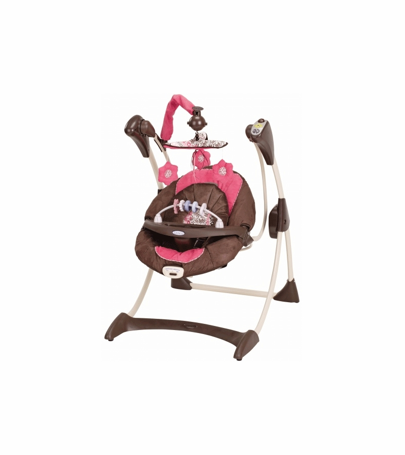 Graco Silhouette Swing Lily