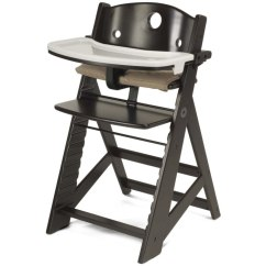 Albee Baby High Chair Office Gaming Chairs Keekaroo Height Right With Tray - Espresso