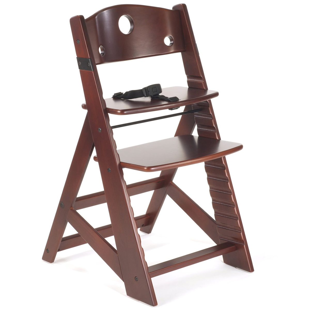 albee baby high chair folding lawn chairs lowes keekaroo height right kids mahogany