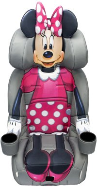 KidsEmbrace Harness Booster Car Seat - Minnie Mouse