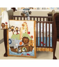 Lambs & Ivy S.S. Noah 5 Piece Crib Bedding Set