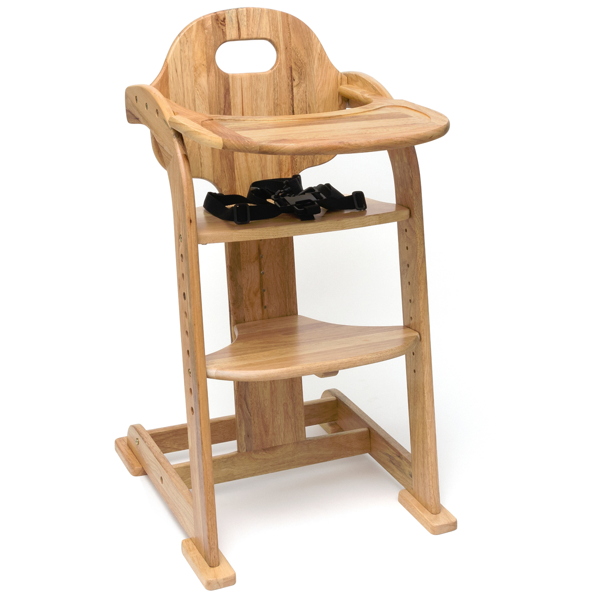 albee baby high chair conference table chairs lipper international adjustable natural