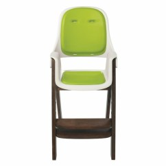 Oxo Tot Sprout Chair Childrens Table And Chairs High - Green/walnut