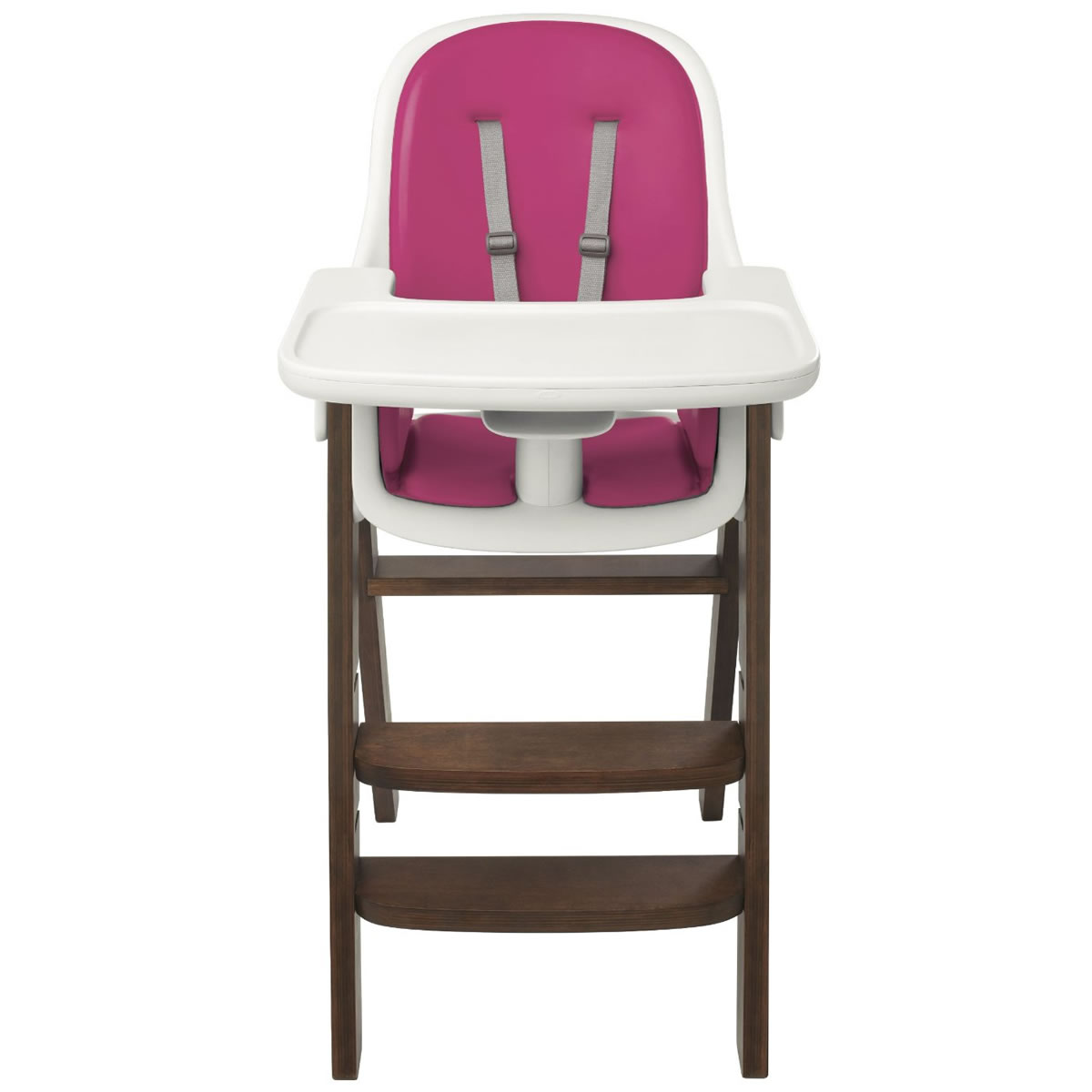 albee baby high chair country dining room chairs oxo tot sprout pink walnut