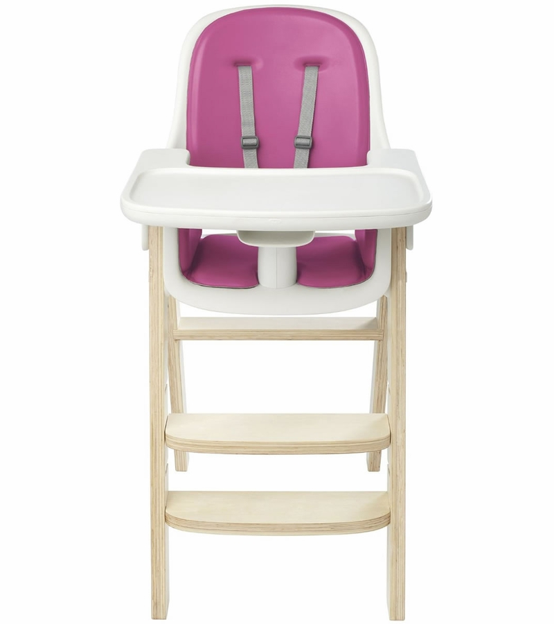 OXO Tot Sprout High Chair  Pink  Birch
