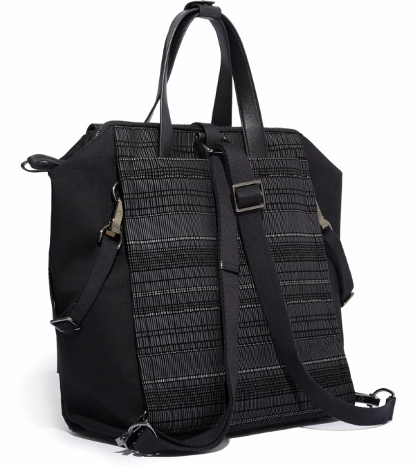 Skip Hop Highline Convertible Backpack Diaper Bag - Black Granite