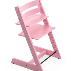 Tripp Trapp High Chair Animal Print Chairs Stokke Soft Pink