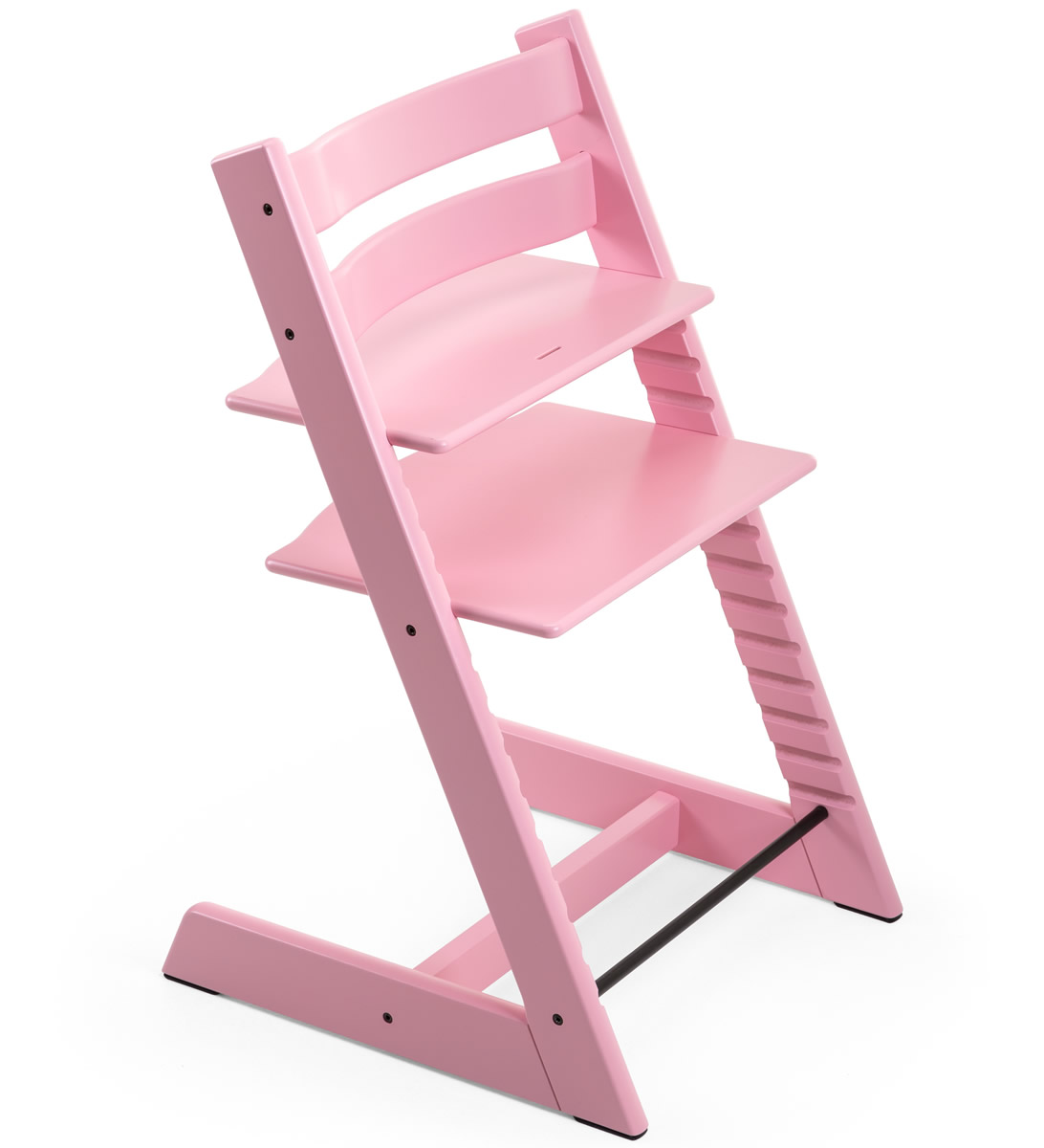 albee baby high chair repair outdoor sling chairs stokke tripp trapp soft pink