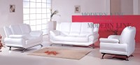 white leather furniture set | Roselawnlutheran