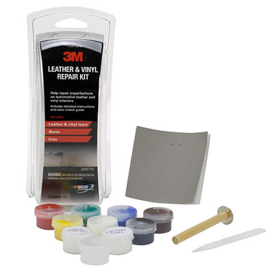 vinyl chair repair kit kitchen table with high chairs 3m leather 08579