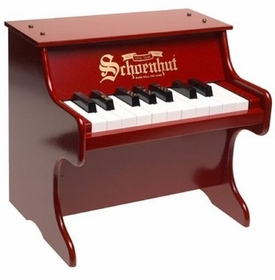 Schoenhut red toy piano