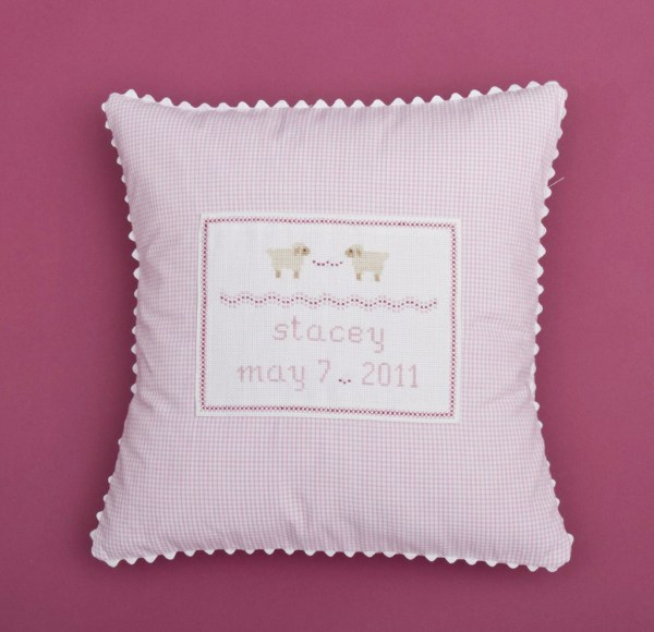 Gift Personalized Baby Pillow