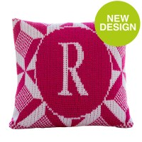 puzzle initial pillow