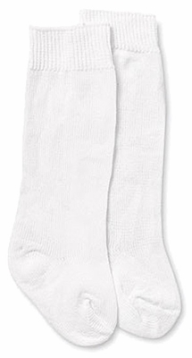 Jefferies White Dress Knee High Socks for Boys and Girls