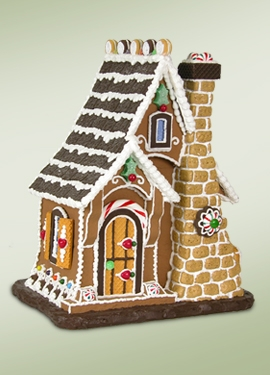 Gingerbread Figurines And Ornaments Holiday Decor