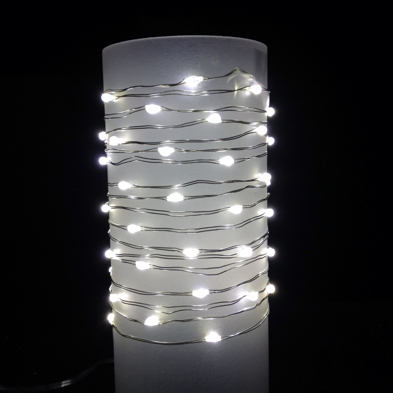 Battery Operated Outdoor String Lights Timer