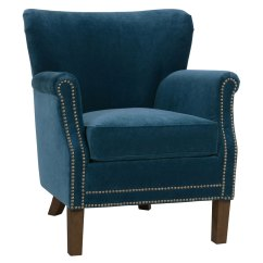 Small Arm Chair Wood Floors Office Wheels Fabric Upholstered Tight Back Accent Club