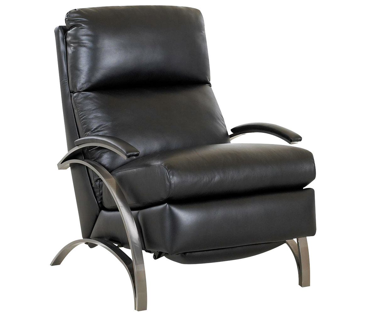 Modern Recliner Chairs Contemporary European Leather Recliner Chair W Steel